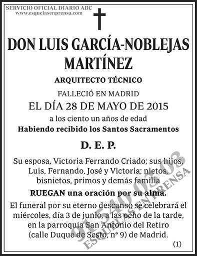 Luis García-Noblejas Martínez